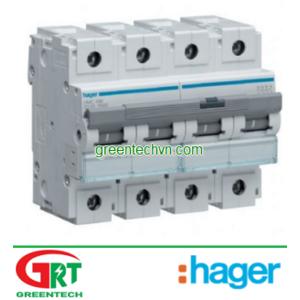 MU425A | Hager MU425A | MCB 4P 25A 6KA - MU425A | Cầu dao tự động | Hager Vietnam