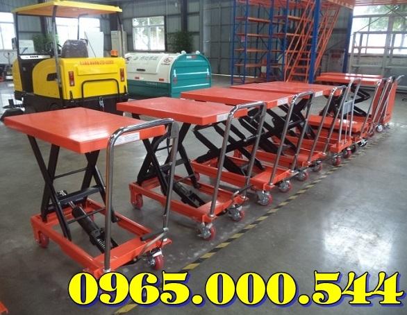 Bàn nâng thủy lực 500 kg, bàn nâng tay WP500 giá rẻ giao nhanh.