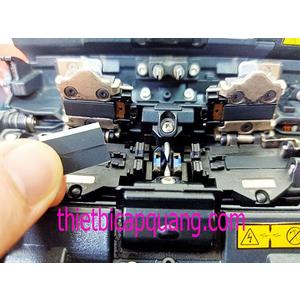 Đệm cao su kẹp sợi máy hàn cáp quang
