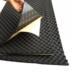 Mút Cao Su Cách Âm Có Một Mặt Dính - Soundproof rubber foam
