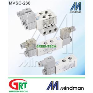MVSC-260-4E1   Mindman   Xilanh khí nén   Mindman Vietnam