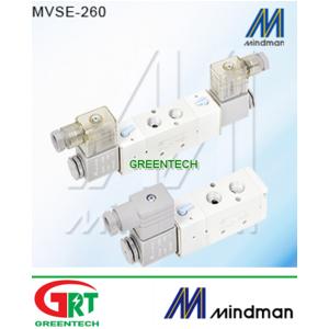 MVSC-260-4E1 MVSC-260-4E2   Van điện từ Mindman   Solenoid Valve khí nén   Mindman Vietnam