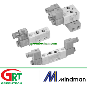 MVSC-460-3E1-NC   MVSC-460-3E1-NO   Van điện từ Mindman   Solenoid Valve khí nén   Mindman Vietnam