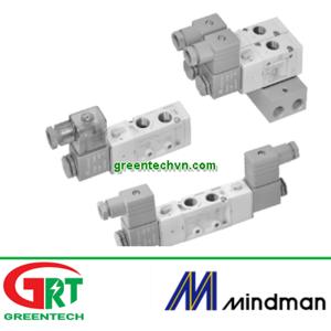 MVSC-460-4E2P   MVSC-460-4E2R  Van điện từ Mindman   Solenoid Valve khí nén   Mindman Vietnam