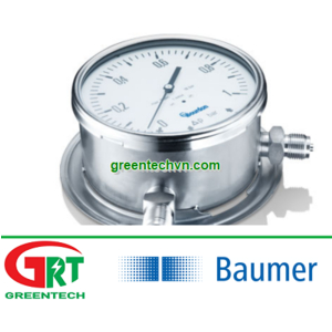 MX7-D60.D16H | Baumer Bourdon | Đồng hồ áp suất MX7-D60.D16H | Pressure Gauge MX7-D60.D16H | Baumer