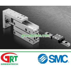 Compact slide table ø 6 - 20 mm   MXH seriess  SMC Pneumatic   SMC Vietnam