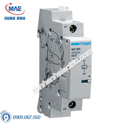 Thiết bị đóng cắt Hager (MCB) - Model MZ205