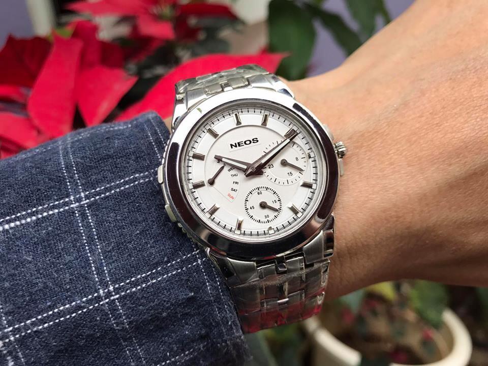 đồng hồ nam neos n-30790m - sst chính hãng   hieutin.com