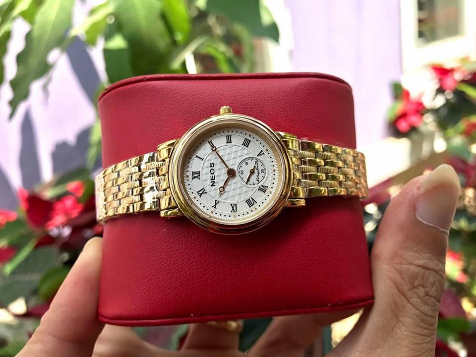 đồng hồ nữ neos n-30851l - kt chính hãng | hieutin.com