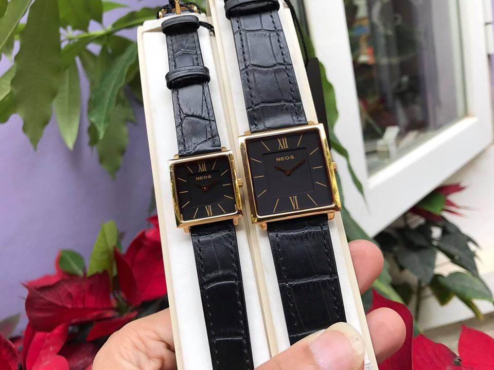 đồng hồ đôi neos n-40674m - ldkd chính hãng   hieutin.com