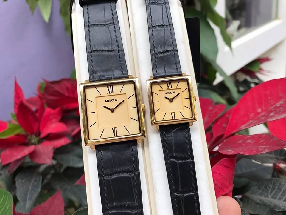 đồng hồ đôi neos n-40674m - ldkv chính hãng   hieutin.com