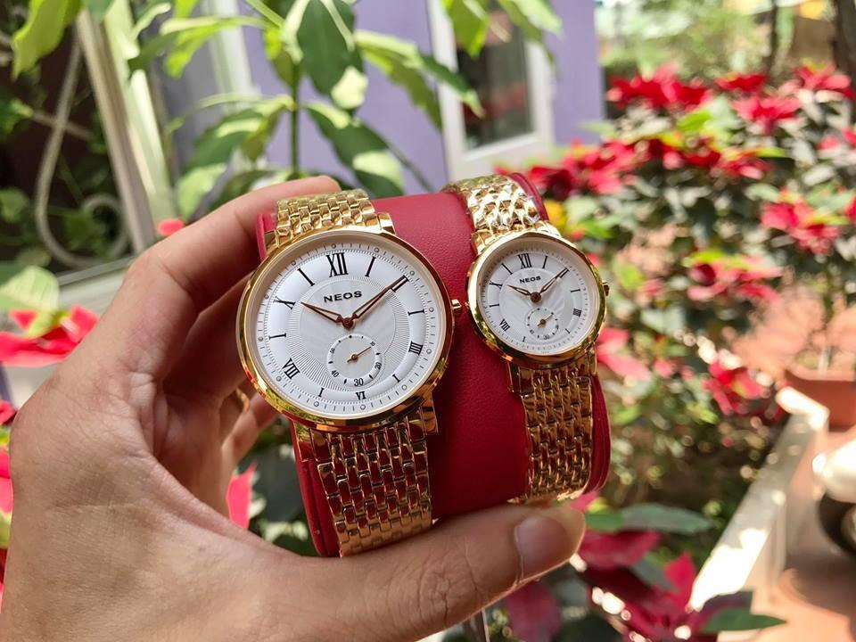 đồng hồ đôi neos n-40675m - kt chính hãng | hieutin.com