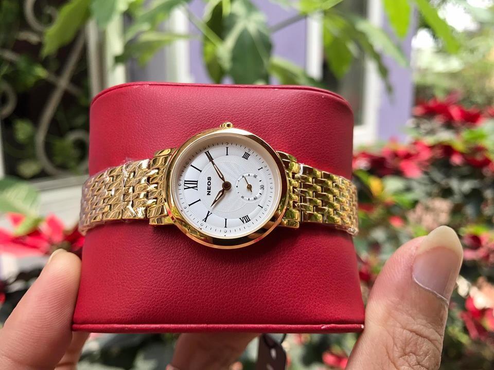 đồng hồ nữ neos n-40675l - kt chính hãng | hieutin.com