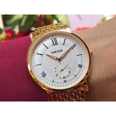 Đồng hồ đôi neos n-40675m - kt chính hãng