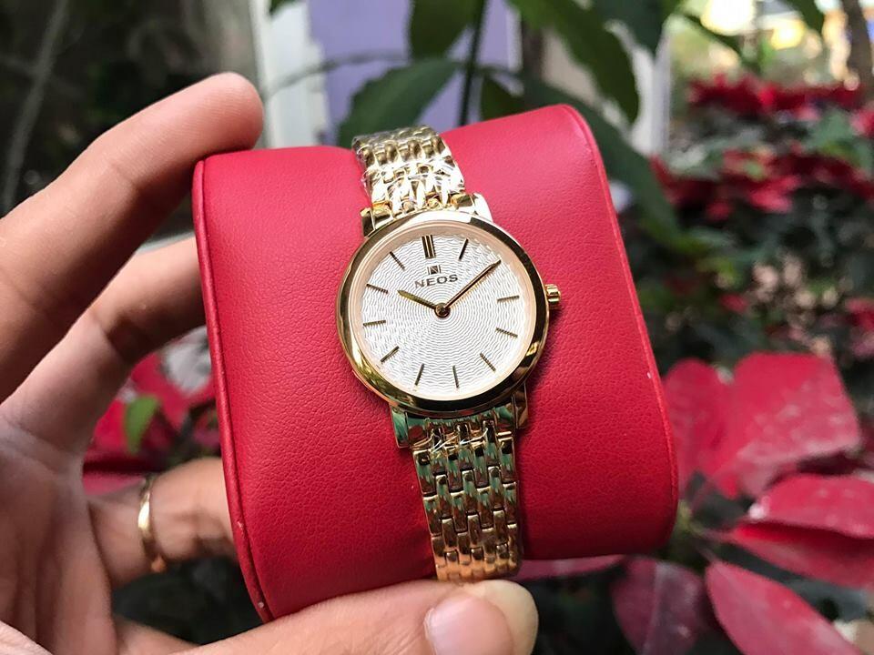đồng hồ nữ neos n-40577l - kt chính hãng | hieutin.com