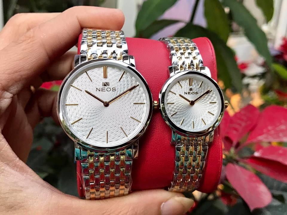 Đồng hồ đôi neos n-40577 - skt chính hãng | hieutin.com