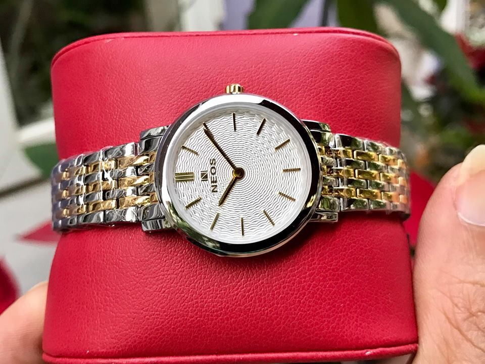 đồng hồ nữ neos n-40577l - skt chính hãng | hieutin.com