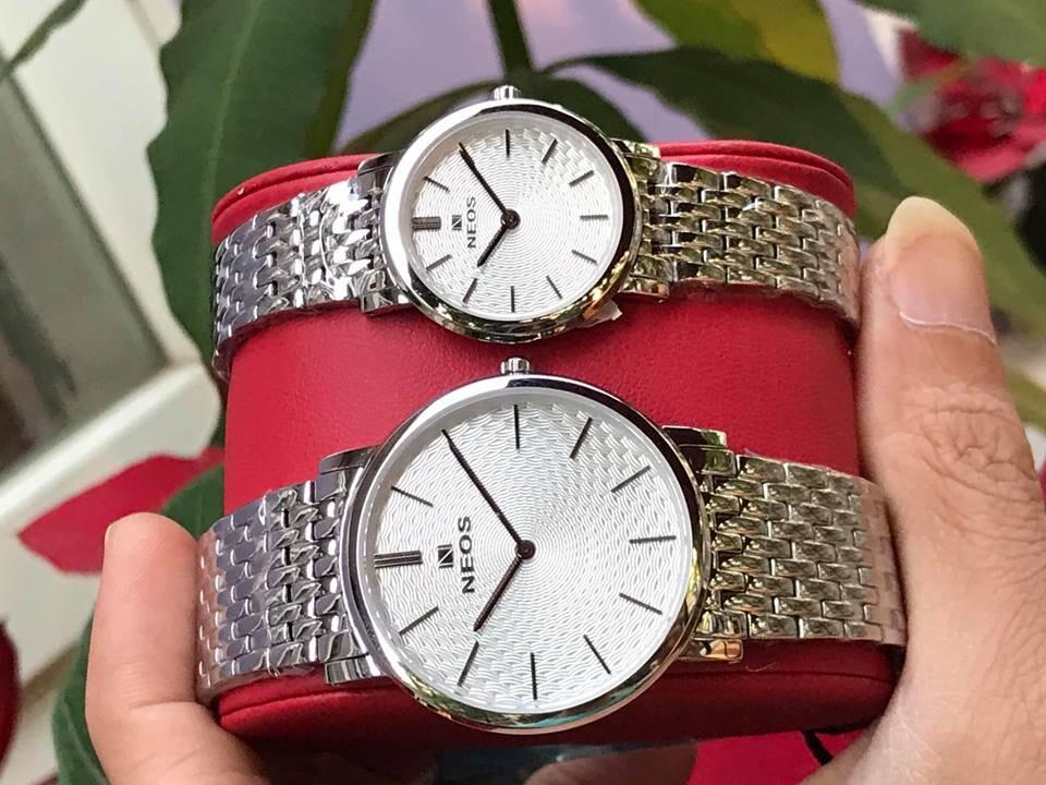 đồng hồ đôi neos n-40577 - sst chính hãng   hieutin.com