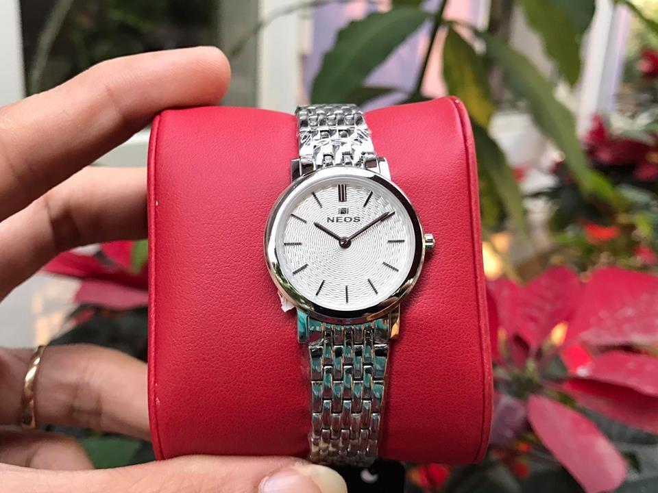 đồng hồ nữ neos n-40577l - sst chính hãng   hieutin.com