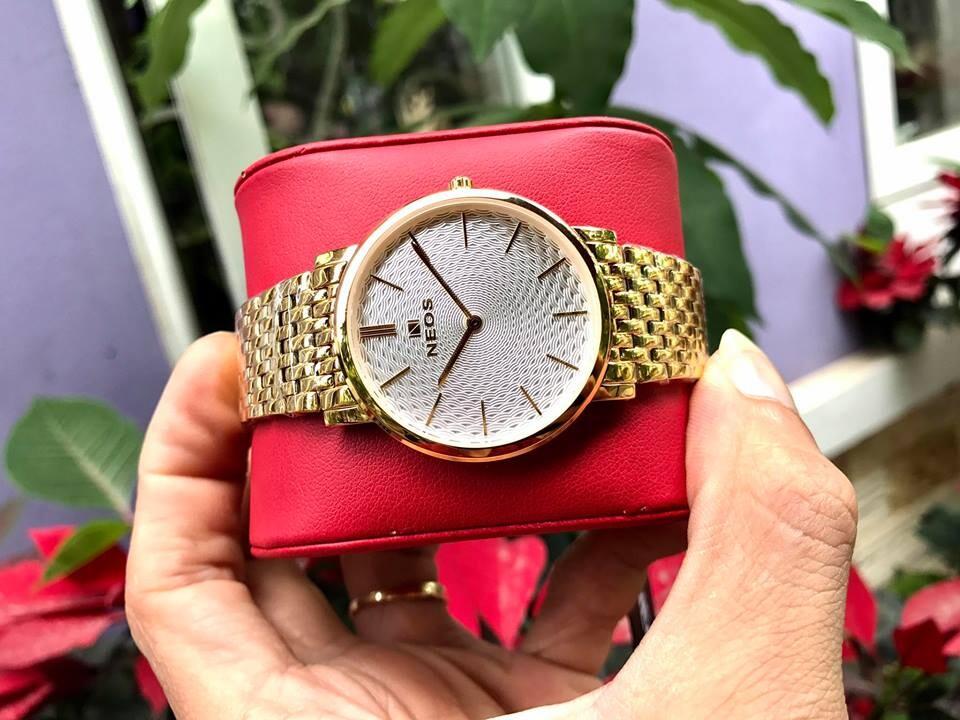 Đồng hồ đôi neos n-40577 - kt chính hãng