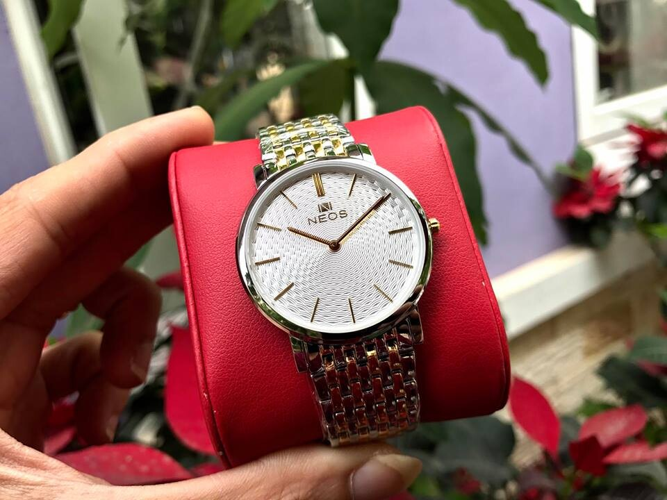 Đồng hồ đôi neos n-40577 - skt chính hãng