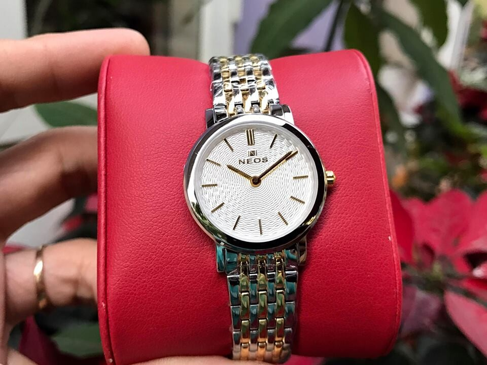 đồng hồ nữ neos n-40577l - skt chính hãng
