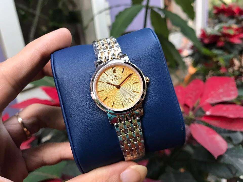 đồng hồ nữ neos n-40577l - skv chính hãng