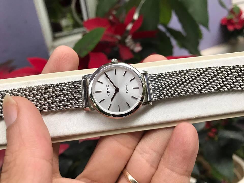 đồng hồ nữ neos n-40685l - sst chính hãng | hieutin.com