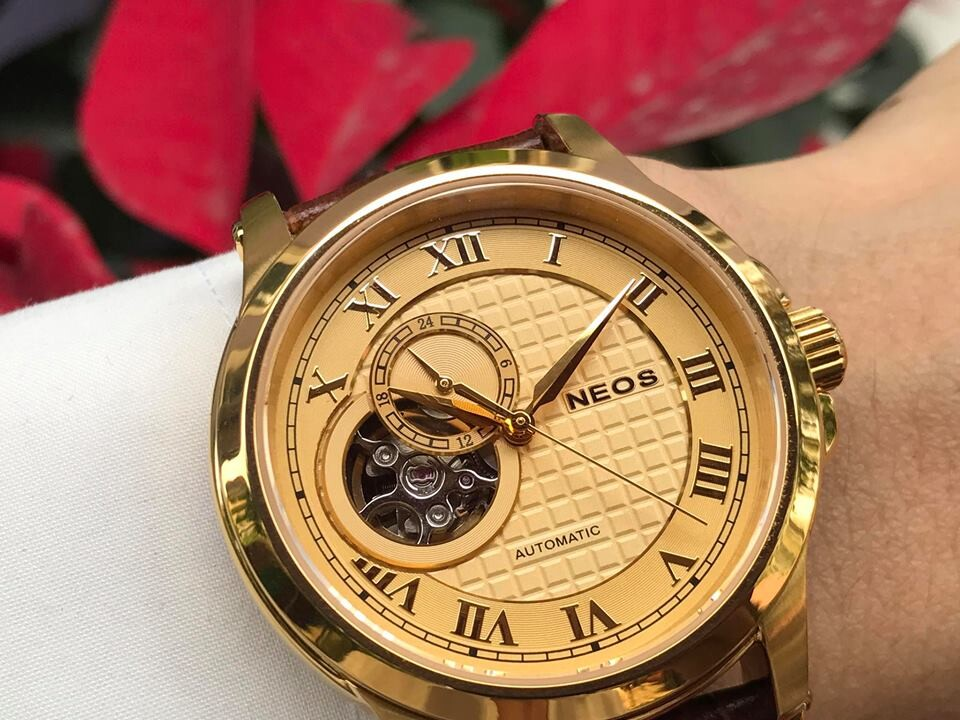đồng hồ nam automatic neos n-90110m