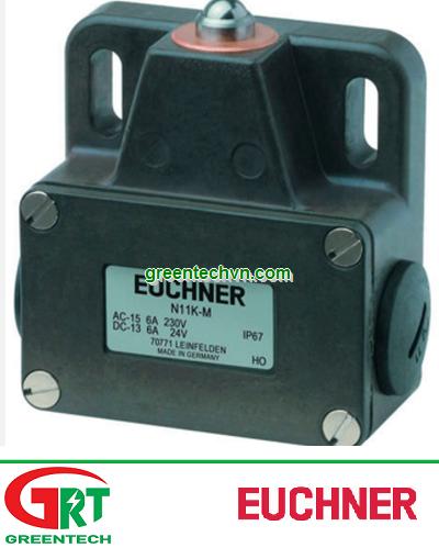 Euchner N11K-M   Công tắc hành trình N11K-M   Limit switch Enchner N11K-M
