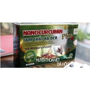 Nano Curcumin Plus Tam thất xạ đen
