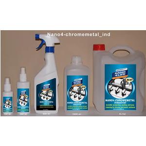 Nano4-Chrom metal: Nano bảo vệ cho kim loại