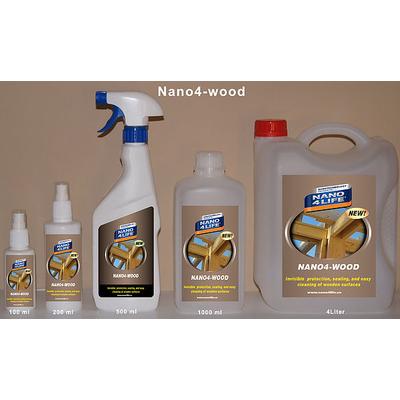 Nano4-Wood® - Nano bảo vệ vật liệu gỗ