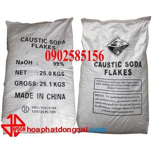 Xút vảy Natri hydroxit NaOH 99% (TQ)