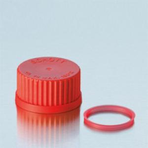 Nắp vặn nhựa PBT màu đỏ - DURAN