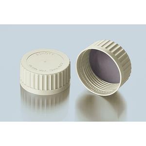 Nắp vặn trắng chai trung tính GLS 80 có đĩa đệm PSU - DURAN