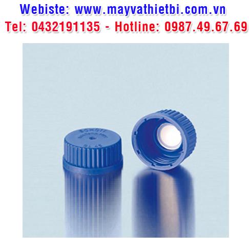 Nắp vặn xanh dương chai trung tính có màng lọc PTFE - DURAN