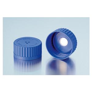 Nắp vặn xanh dương cho chai trung tính GLS 80, có màng lọc - DURAN