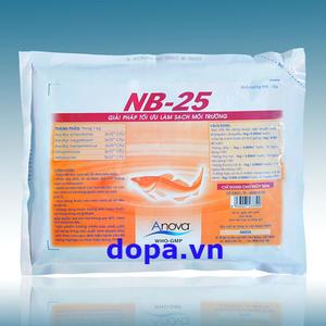 NB25- Vi Sinh Xử Lý Đáy Ao, Gây Màu Nước Nhanh, Hiệu Quả Cao