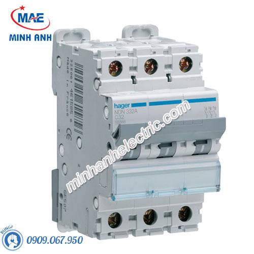 Thiết bị đóng cắt Hager (MCB) - Model NDN332A
