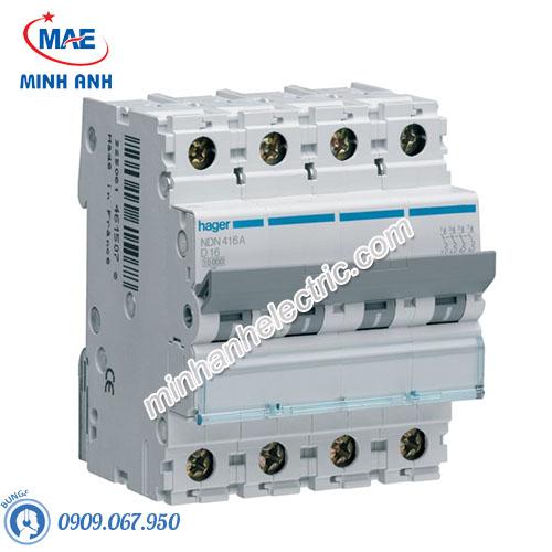 Thiết bị đóng cắt Hager (MCB) - Model NDN413A