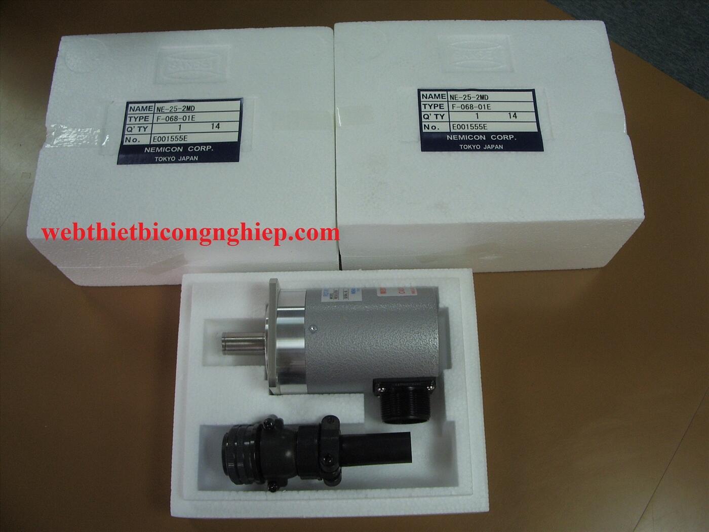 Encoder Nemicon NE-25-2MD, Bộ mã hóa vòng quay encoder Nemicon - Tokyo Japan