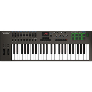 Nektar Technology Impact LX49+ 49-Key USB MIDI Controller Keyboard