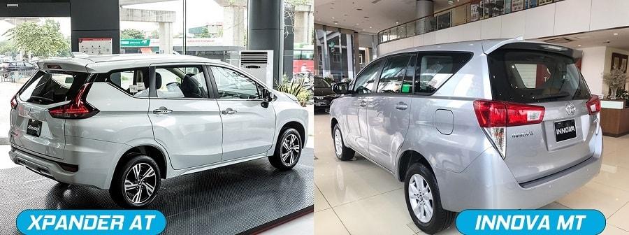 Nên mua xe Xpander số tự động hay Toyota Innova số sàn