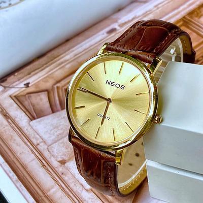Đồng hồ Neos siêu mỏng N-40685M-lkt chính hãng