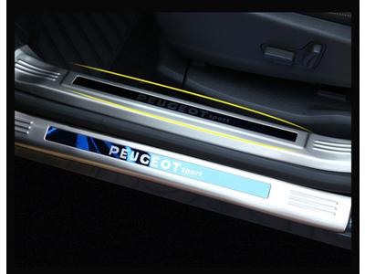 Nẹp bước chân chống trầy trong và ngoài xe Peugeot 5008 3008