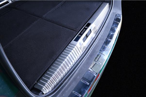 Nẹp chống xước cốp xe Peugeot 5008