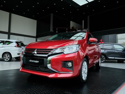 New Mitsubishi Attrage CVT