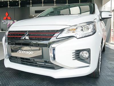 New Mitsubishi Attrage MT