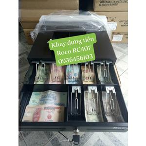 Bộ đôi thiết bị bán hàng Ngăn kéo đựng tiền Roco RC407 và Máy in hóa đơn APOS A168